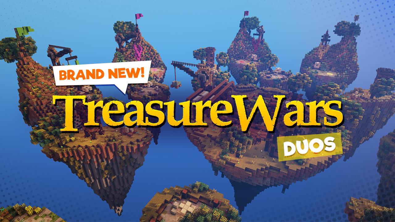 Treasure Wars: Duos (Minecraft Minigame)