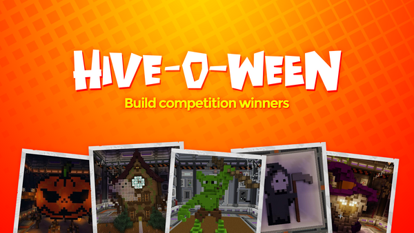 Hive-O-Ween Just Build Competition Winners!